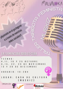 Txirigota feminista cartel