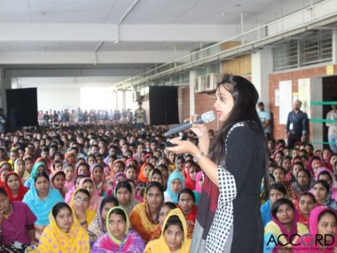 Imagen encuentro mujeres Bangladesh